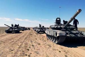 На Донбассе зафиксировали большое скопление танков и артиллерии боевиков