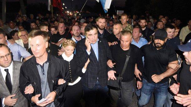 Милиция : Пофакту прорыва границы в«Шегинях» задержаны 5  человек