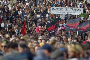 Во Франции в протестах против трудовой реформы приняли участие 400 тыс. человек