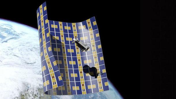 Сверхтонкий космический аппарат будет собирать космический сор