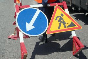 В Киеве ограничат движение на двух участках