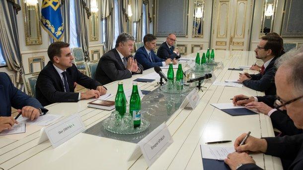 Порошенко принял новоназначенного Генерального секретаря ОБСЕ, фото president.gov.ua
