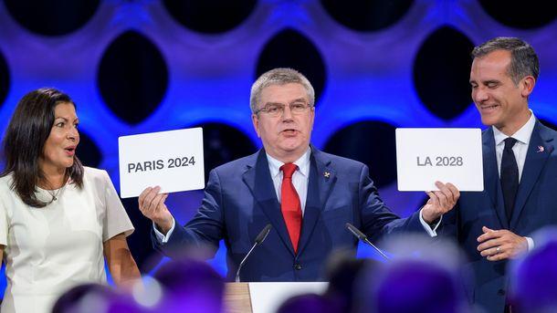 Официально: Париж и Лос-Анджелес проведут Олимпийские игры