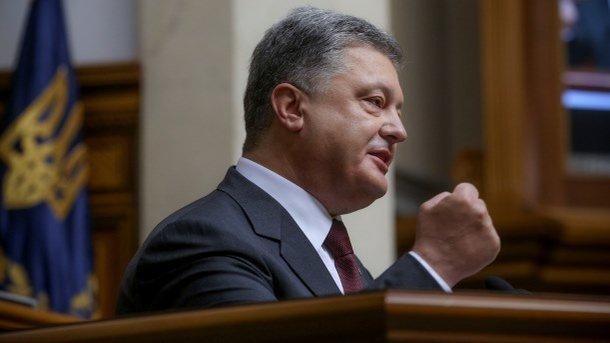 Порошенко рассчитывает, что Рада примет судебную реформу наследующей неделе