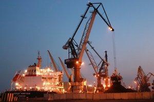 В Одесском порту почти разгрузили уголь из США