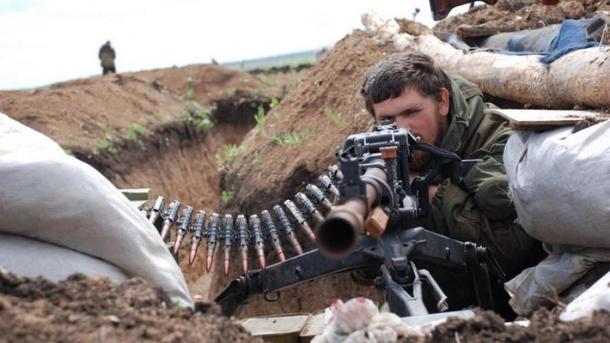 Боевики 5 раз открывали огонь попозициям ВСУ— АТО