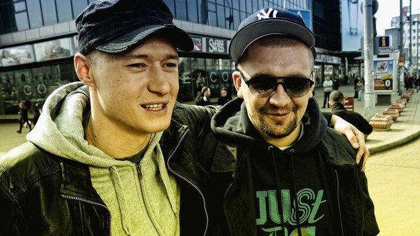 Андрей Хлывнюк и Баста. Фото: facebook.com