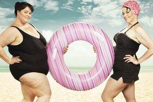 Фотограф потрясающе обыграл похудение своей подруги (фото)