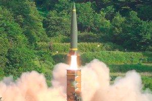 Южная Корея ответила КНДР пуском баллистической ракеты