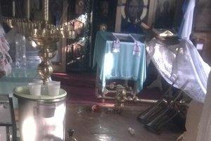 В Киеве неизвестные обворовали храм