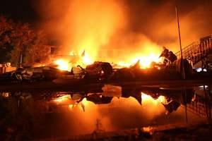 Смертельный пожар в одесском детском лагере: фотолента