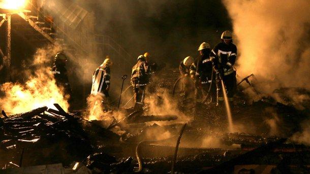 Пожар в одесском лагере: погибли три девочки, директор в реанимации с сердечным приступом