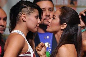 Перед боем Головкин - Альварес на ринге подерутся девушки