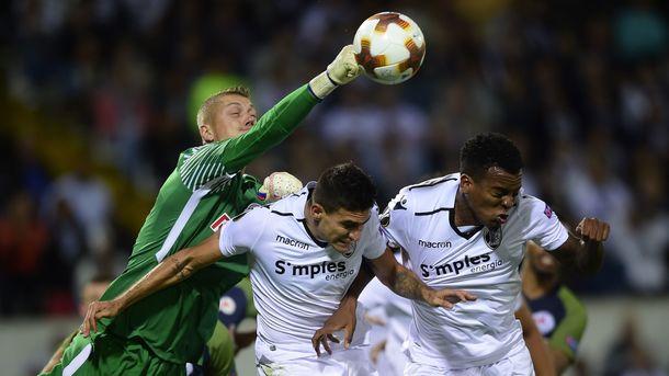 Впервые в еврокубках сыграл клуб без европейцев в стартовом составе