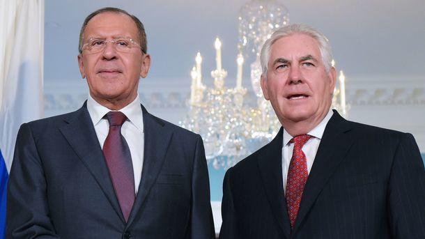 Состоялся телефонный разговор Лаврова и Тиллерсона: говорили об Украине и Сирии