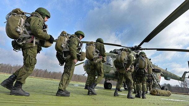 Масштабные учения войск РФ в Беларуси