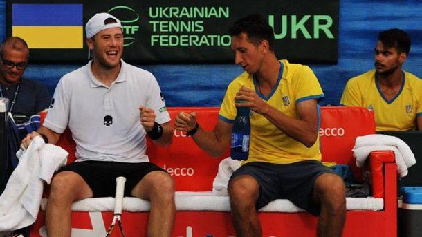 Украина всухую обыграла Израиль в Кубке Дэвиса
