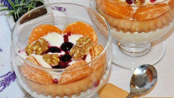 Йогурт отлично бодрит. Фото: pixabay.com