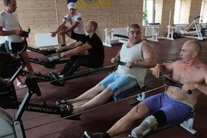 Тренировка украинских спортсменов. Фото: Г. Салай