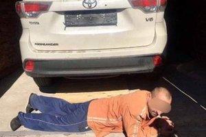 Под Киевом поймали банду угонщиков автомобилей