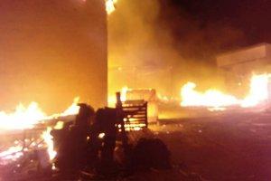 Под Киевом во время пожара погиб мужчина