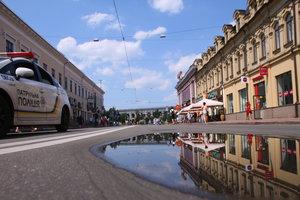 За восемь месяцев произошло 101 ДТП с участием киевских патрульных