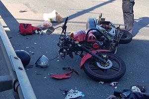 В Киеве мотоциклист насмерть сбил женщину-пешехода