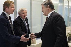 Стало известно, с кем сегодня встретится Порошенко в США