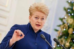 Российская делегация демонстративно покинула зал Генассамблеи ООН перед выступлением президента Литвы