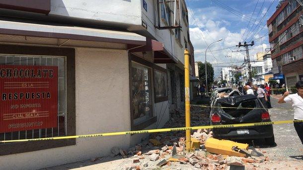 ВМексике 2-ой раз замесяц случилось мощное землетрясение