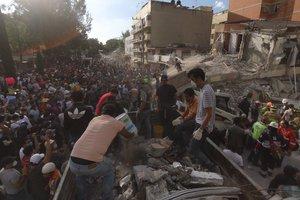 Землетрясение в Мексике: при обрушении школы погибли 20 детей