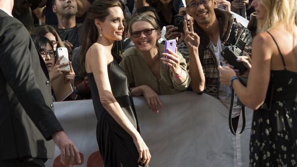 Анджелина Джоли взбесилась из-за интимного вопроса наток-шоу