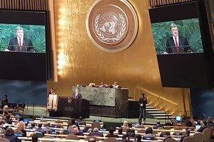 Порошенко на Генассамблее ООН выступил за реформы в Организации