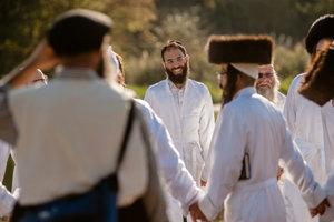 Еврейский новый год: зрелищное видео из Умани