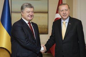 Президенты Украины и Турции обсудили пути углубления стратегического партнерства