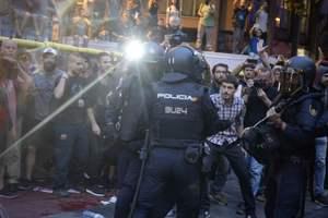 Референдум о независимости Каталонии: в Испании бушуют протесты, появились фото