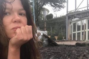 В Киеве молния во время грозы ударила в дом известной певицы