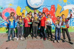 Дети-переселенцы провели акцию против войны
