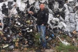 В киевском лесу нашли кладбище электросчетчиков