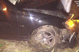 В Киеве пьяный водитель ездил наперегонки с патрульными