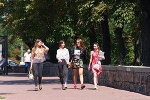Погода в Киеве побила очередной температурный рекорд