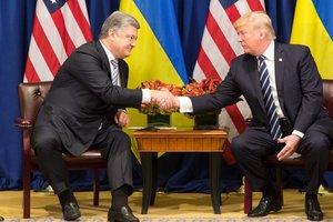 """Трамп о встрече с Порошенко: """"Это замечательно"""""""