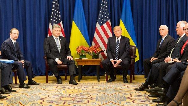 Инвесторы голосуют долларом за доверие к украинским реформам — Порошенко после встречи с Трампом