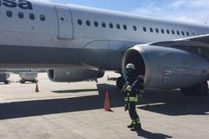 В Тель-Авиве экстренно сел самолет после взрыва в двигателе