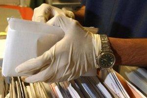 Немецким политикам разослали письма с белым порошком
