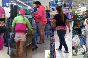 Самые безумные наряды посетителей американских супермаркетов