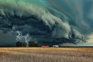 На Украину надвигается буря