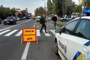 В Киеве Subaru насмерть сбил женщину на переходе