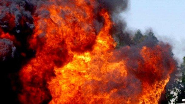 Жебривский исключил версию теракта всвязи спожаром наскладе боеприпасов