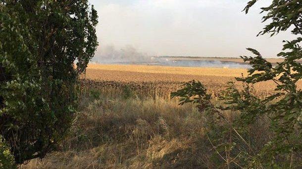 Несколько взрывов наскладах боеприпасов прогремели вДонецкой области